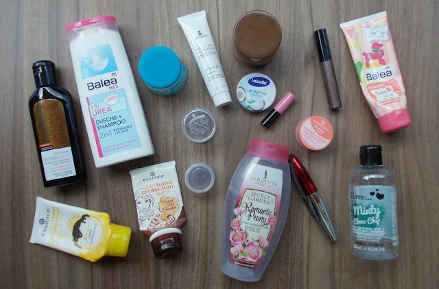 empties used up cosmetics