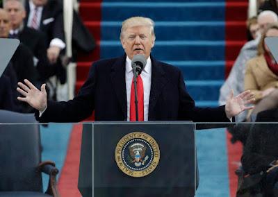 trump inauguration, Donald Trump, Trump-beiktatás, Washington, Barack Obama, hatalomátadás, America first