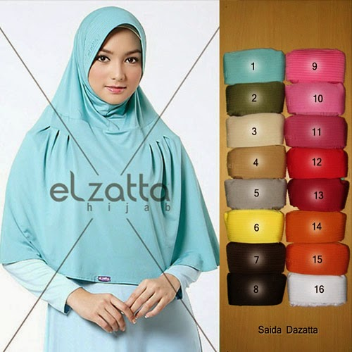 Jilbab Elzatta Model Terbaru