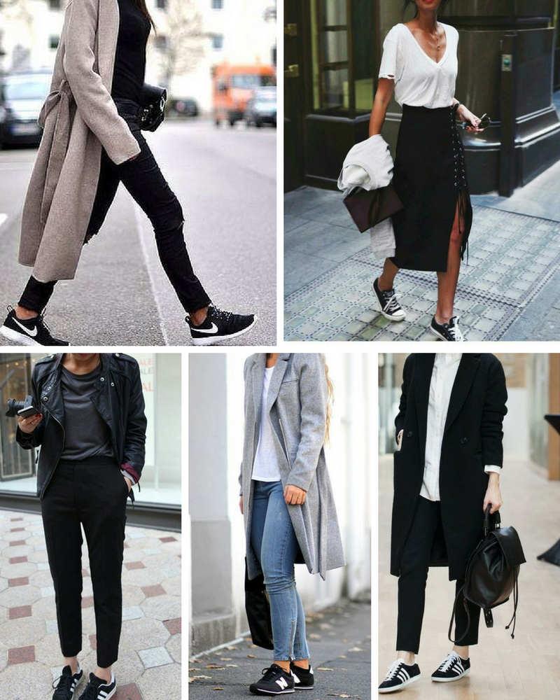 Ideas de cómo combinar unas zapatillas negras y cuáles son mis favoritas