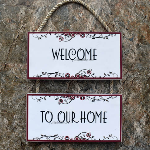Welcome Hanging Wood  Decor in Port Harcourt, Nigeria