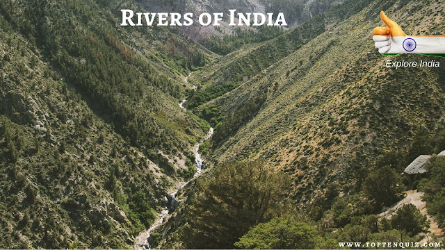 MCQ on Rivers of India