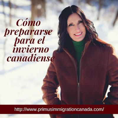 Primus Immigration: Cómo prepararse para el invierno canadiense