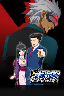 Phoenix Wright Ace Attorney Anime Gyakuten Saiban season 2 Maya Fey Godot promotional image