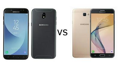 Samsung Galaxy J7 (2017) Vs Samsung Galaxy J7 Prime