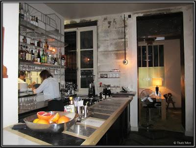 Salle bar Resto PAN Rue Martel Paris 10