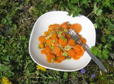 Orientalisches Karottengemüse