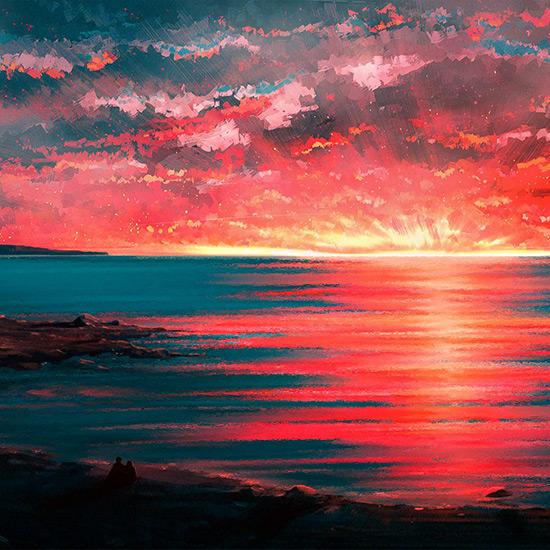 Sunset 4K Wallpaper Engine
