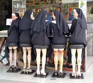 Funny Catholic Nun Whorehouse Prostitution Joke Picture