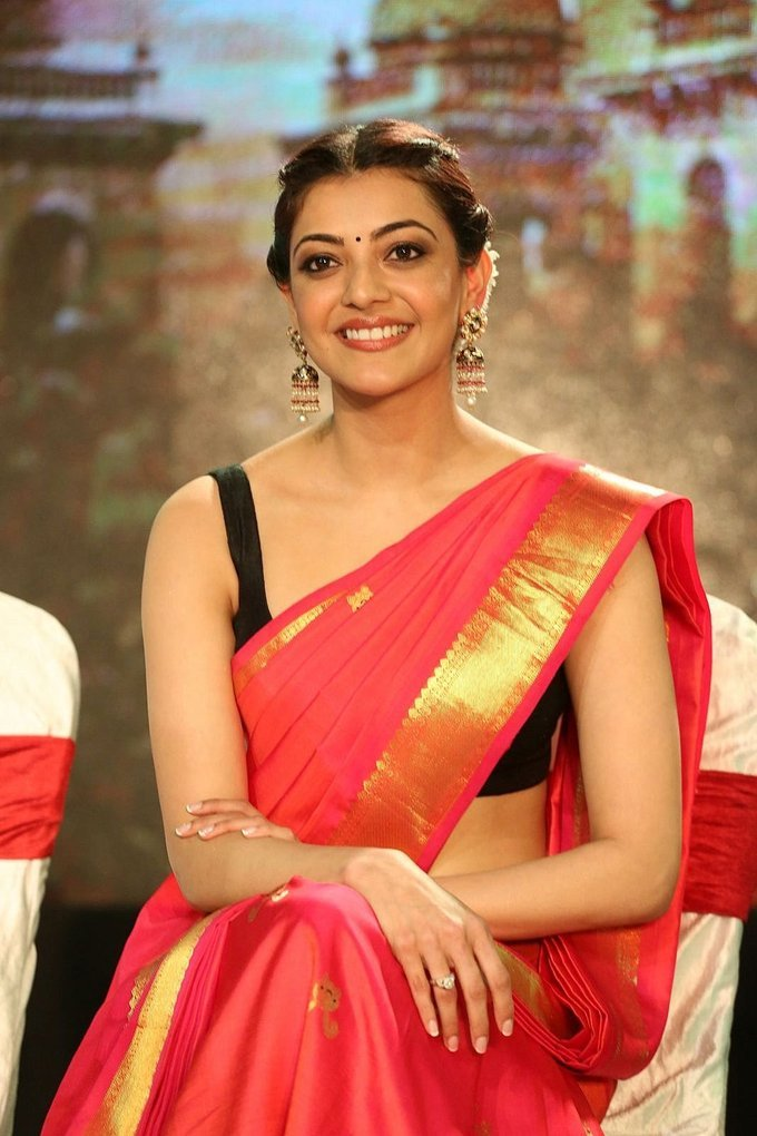 Kajal Aggarwal At Nene Raju Nene Mantri Audio Launch Function