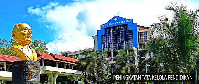 Info Pendaftaran Mahasiswa Baru (UNSRAT) Universitas Sam Ratulangi Manado 2019-2020