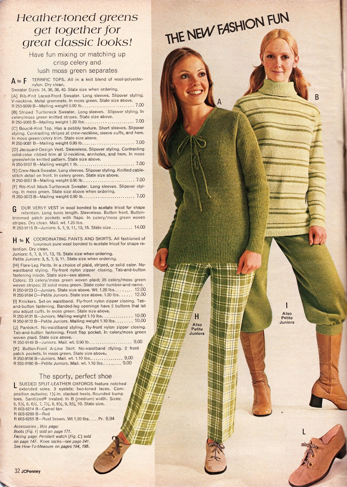 ef6dd90f9a36 Kathy Loghry Blogspot  JCPenney Catalog 1971 - The New Fashion Fun