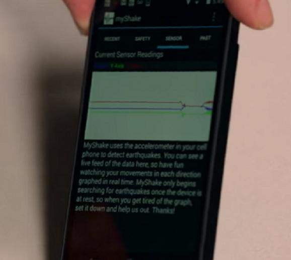 Kampus UC Berkeley meluncurkan aplikasi android MyShake pendetesi gempa bumi