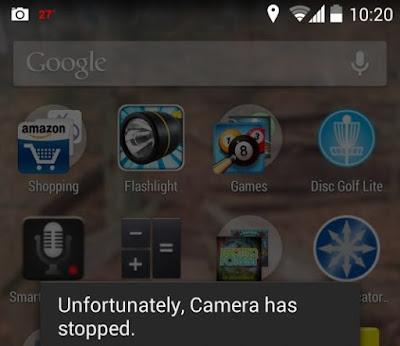 Cara Mengatasi Sayangnya Kamera Telah Berhenti di Android