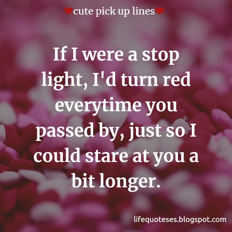 Latest } 200+ Cute Pick Up Lines For Girls And Boys