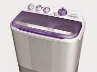 Informasi Daftar Harga Mesin Cuci 2 Tabung Terbaru 2017