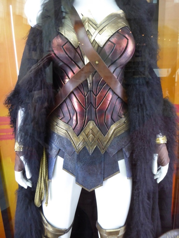 Wonder Woman movie costume detail