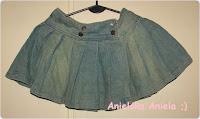 Diy / Peaplum skirt / Baskinka na spódniczkę /przeróbka spódniczki
