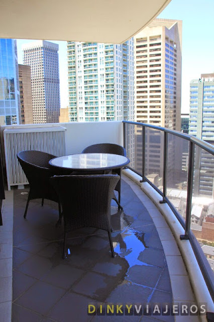 Meriton Serviced Apartments - Kent Street. Terraza