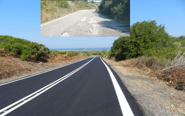 Πρέβεζα:  Άσφαλτος στο επικίνδυνο κομμάτι του δρόμου Άγιος Νικόλαος- Άκτιο (φωτο-video)