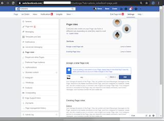 Cara menambahkan admin halaman Facebook