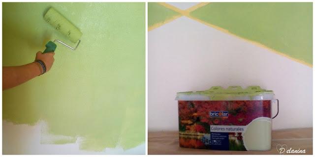 Renovar un dormitorio juvenil con pintura delanina - Color ocre paredes ...