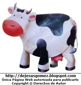 Dibujo de una vaca lechera de Jesus Gómez