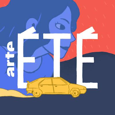 """Logo ARTE """"ETE SAISON 2"""" de Safieddine, Cadène, Bidault et Duvelleroy sur Instagram"""