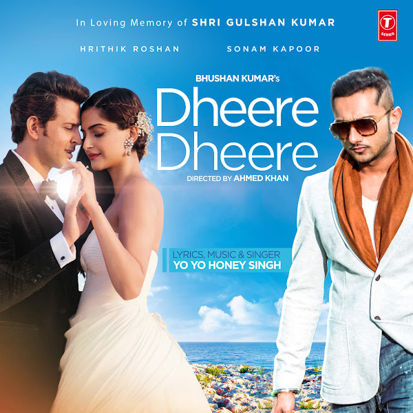 Yo Yo Honey Singh  - Dheere Dheere - Single Cover