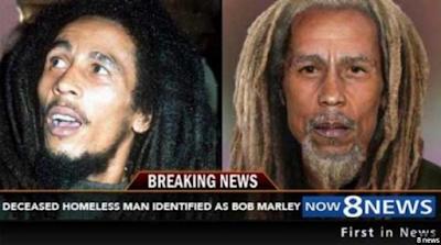 Kematian Bob Marley Palsu, Ternyata Ia Menghabiskan Masa Hidupnya Sebagai Pengamen Jalanan