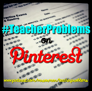 #TeacherProblems on Pinterest  http://www.pinterest.com/mrsorman/teacherproblems/