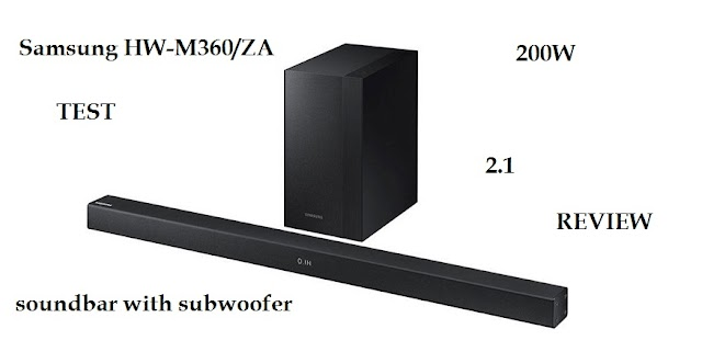 Samsung HW-M360/ZA soundbar - product review