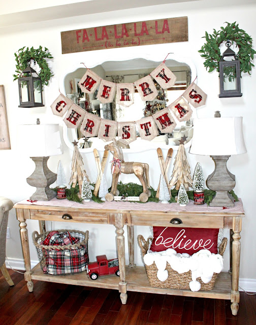 Decorating Ideas > Nesting Blissfully A Very Farmhouse Christmas Home Tour ~ 165708_Christmas Decorations Home Tour