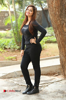Actress Aswini Latest Stills in Black Denim Jeans  0208.JPG