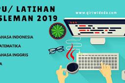 TPPU/ Latihan UN Kabupaten Sleman 14-15 November 2018