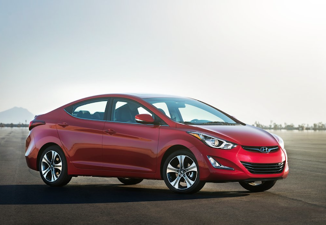 2015 Hyundai Elantra sedan red