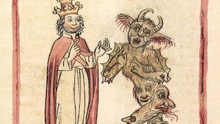 Pacto Silvestre II y el diablo