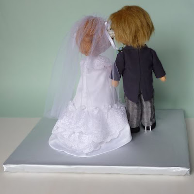 Wedding dolls back style