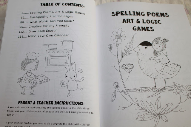 The Four Seasons Spelling Time book
