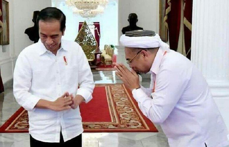 Ngabalin dan Jokowi