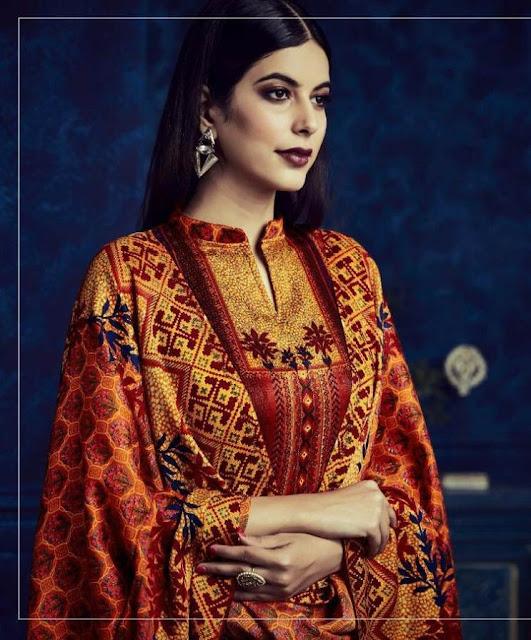 fabcac56d7e Belliza Aisha vol 5 Woolen Suits - Winter Collection