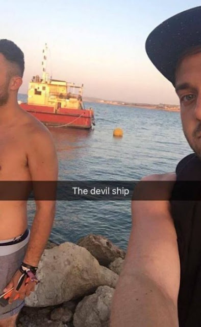 Se emborrachan en Chipre y se embarcan, sin saber, a Siria