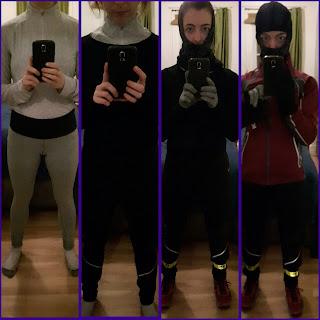 étapes de multicouches pour coureuse hivernale
