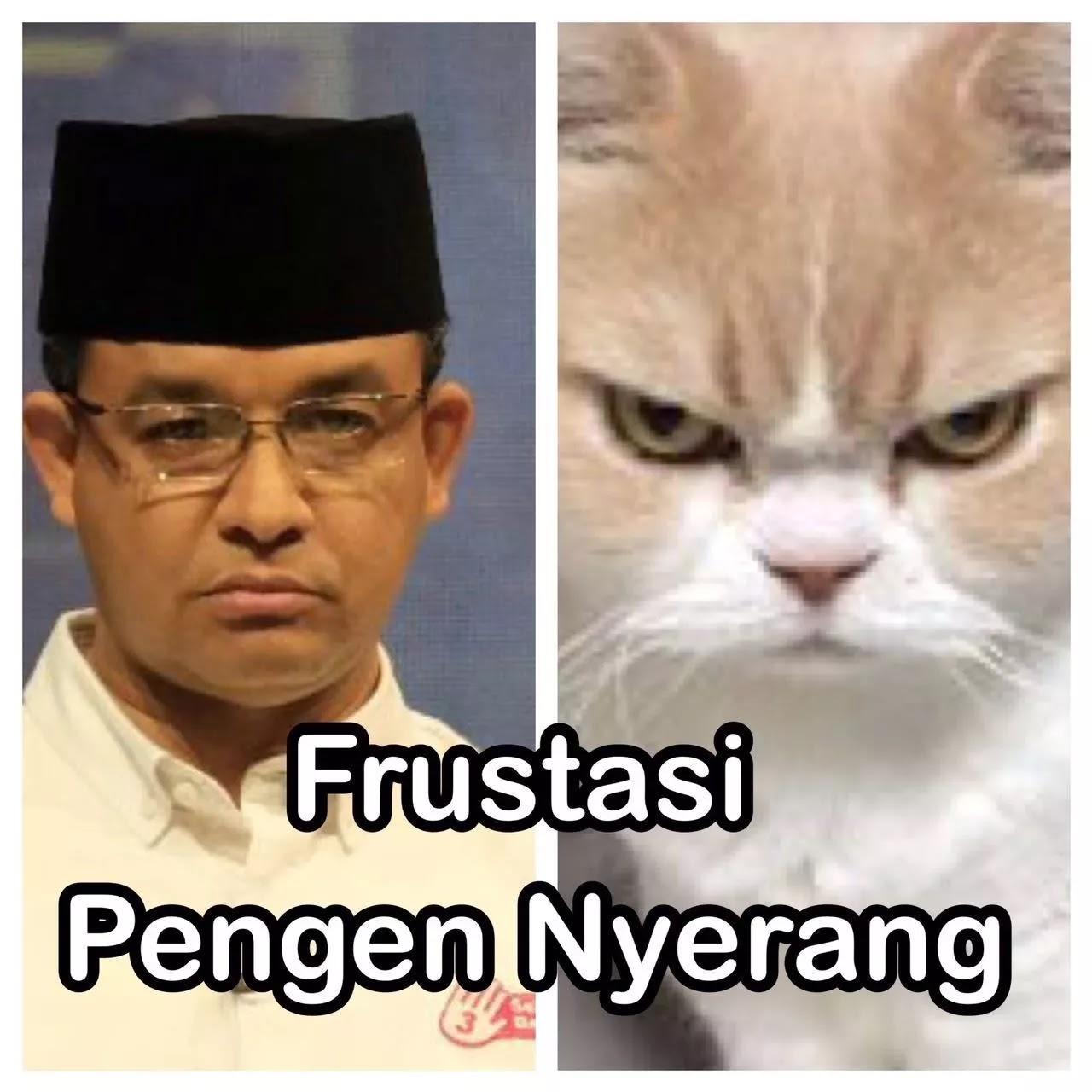 Viral Kumpulan Meme Lucu Anies Baswedan Ingin Pecat Ahok Infomenia