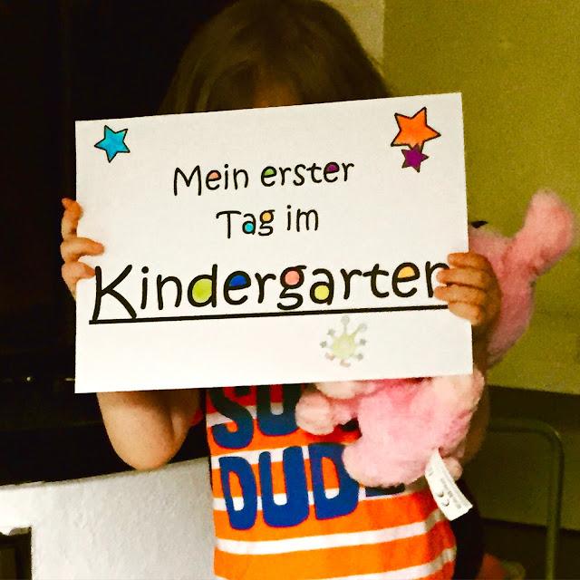 Bjarnes erster Kindergartentag