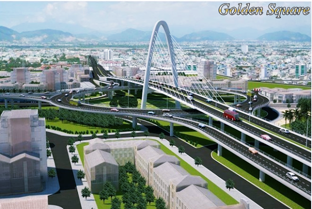 Giao thông thuận lợi tại dự án Golden Square Đà Nẵng