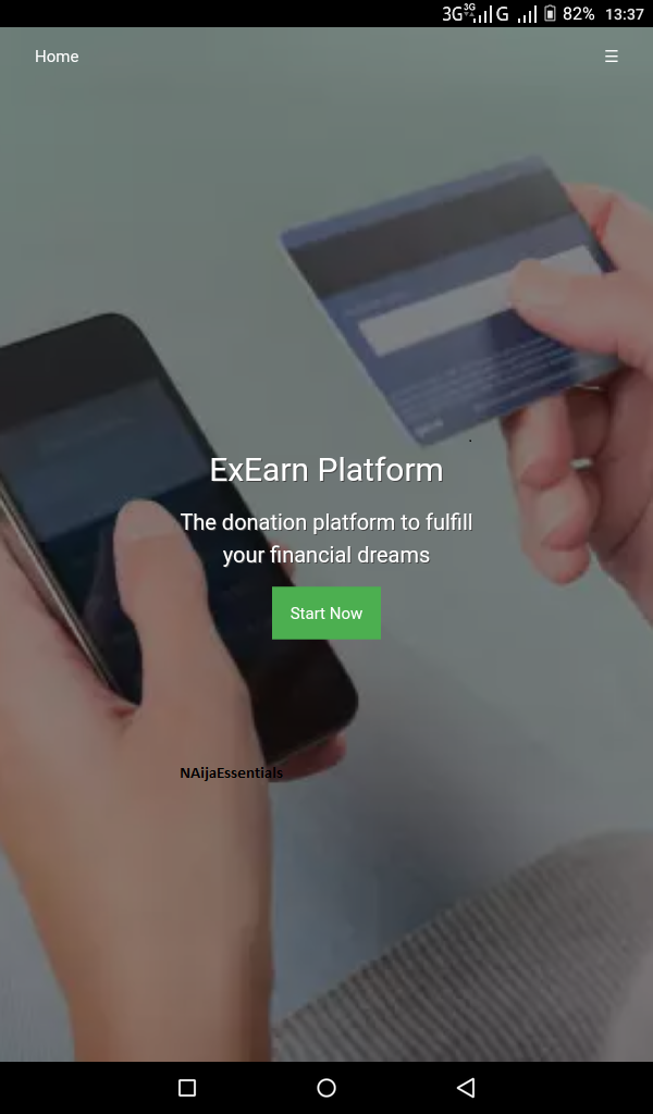 Register With ExEarn.net