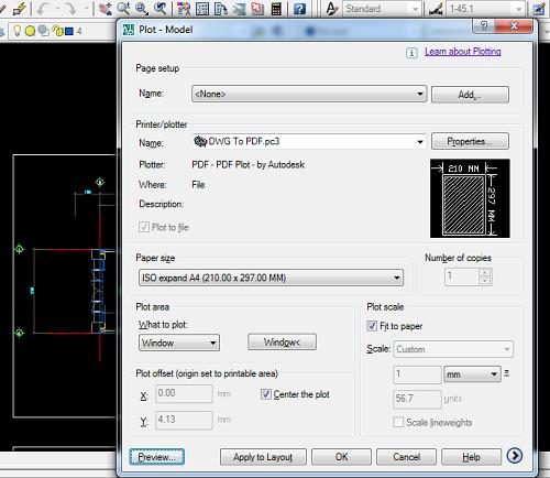 Cách chuyển file có đuôi DWG (autocad) sang file pdf chuẩn nhất-2