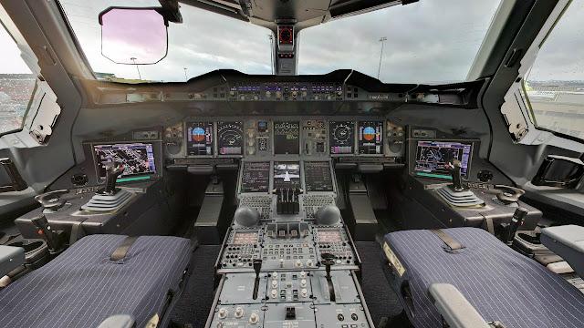 A380 Wallpaper Hd Airbus A380 800 Cockpit Layout Aircraft Wallpaper 3990