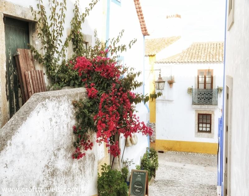 średniwieczne Obidos w Portugalii, perełka Portugalii, 7 cudów Portugalii